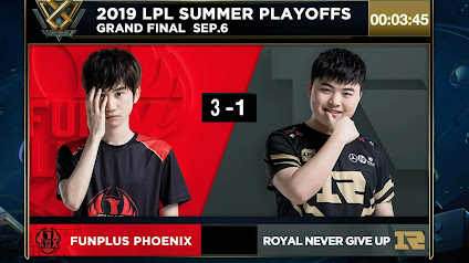 Kết quả trận chung kết LPL Mùa Hè 2019 giữa RNG vs FPX: DoinB toả sáng, FPX lần đầu lên ngôi vô địch
