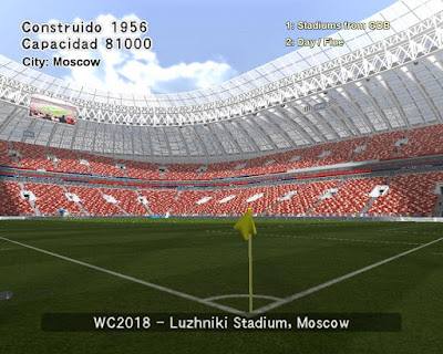 PES 6 Stadiums Luzhniki Stadium ( World Cup 2018 )