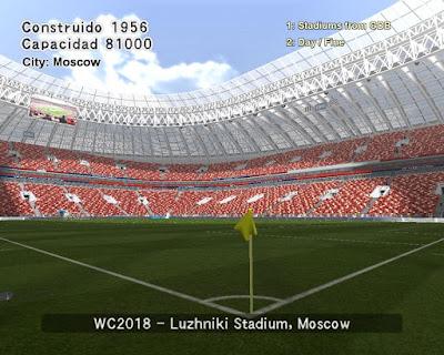 PES 6 Stadiums Luzhniki Stadium ( World Cup 2018 )