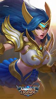 Freya Valkyrie Heroes Fighter of Skins 1st Rework