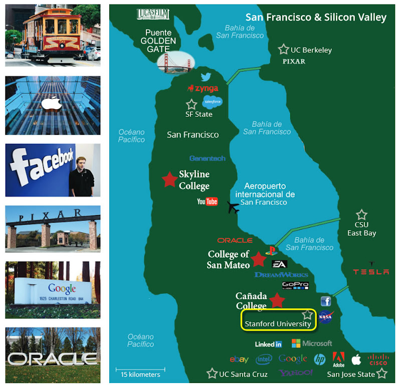 silicon,silicio,valley,valle,claves,universidad,california,facebook