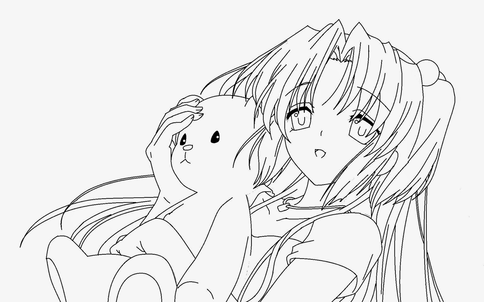 Coloring Pages Anime Coloring Pages Free And Printable