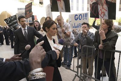 Robin Tunney como Maya Travis em The Fix - Divulgação