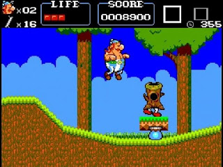 Astérix, la joya de las plataformas de Sega Master System