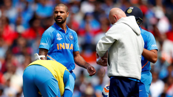 News, London, World, Sports, Cricket, Injured, Injured Shikhar Dhawan ruled out of World Cup 2019 for 3 weeks