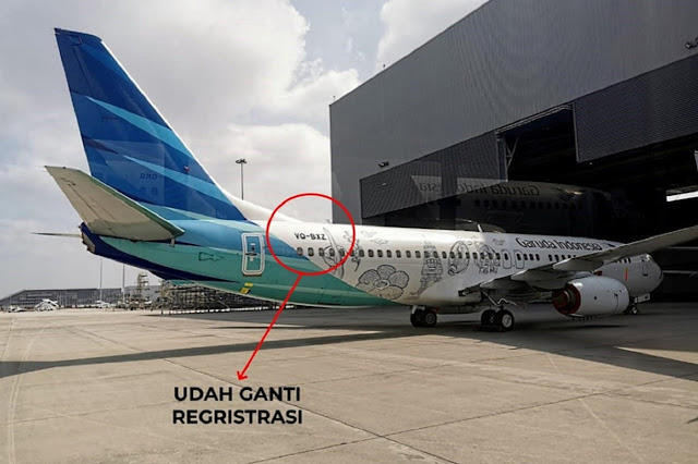 Utang Menggunung, Dua Armada Garuda Disita Pemilik Pesawat