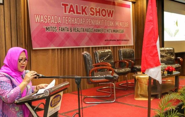 M3C Gencar Sosialisasikan Penyadaran dan Pengenalan Penyakit Kanker di Makassar