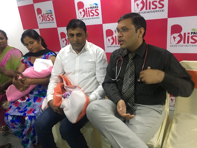 Premature Babies with Respiratory Distress Syndrome Get New Lease of Life at Paras Bliss, Panchkula