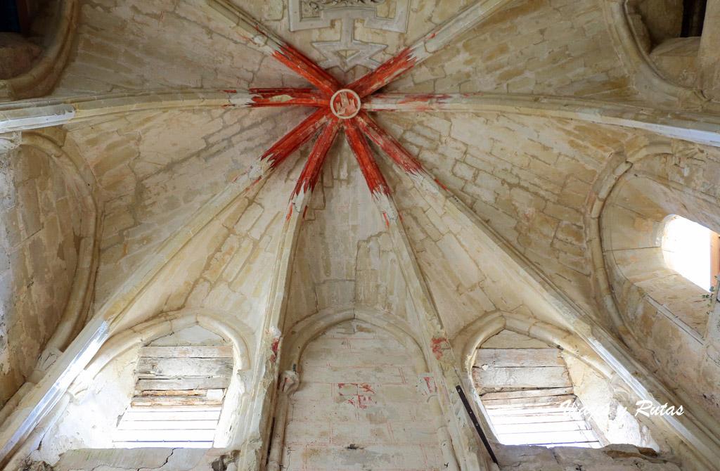 Bóvedas de Crucería, Santa María de Rioseco
