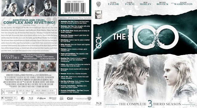 Capa Bluray The 100 Terceira Temporada Completa