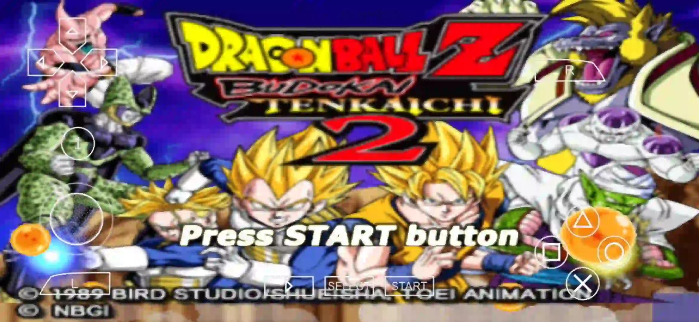 DBZ Budokai Tenkaichi 2 PPSSPP ISO Download