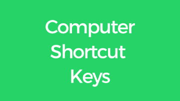 shortcut keys quiz
