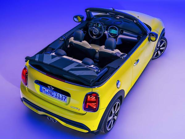 MINI Cooper S Cabrio 2022 chega ao Brasil - preço R$ 270 mil