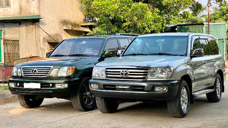 Toyota Land Cruiser và Lexus LX - biểu tượng của đại gia Việt