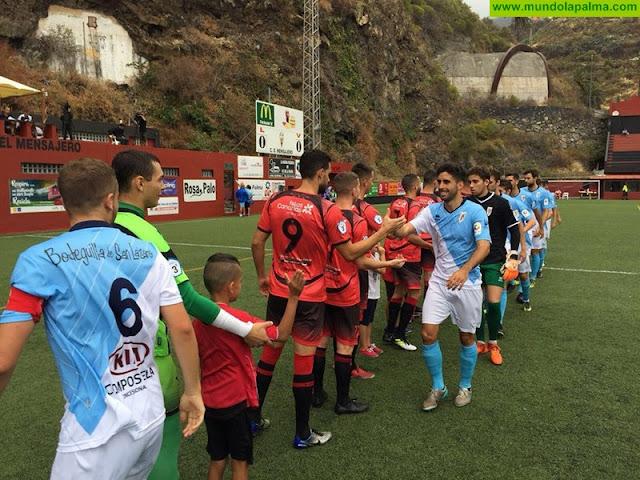 El C.D. Mensajero pierde 0-3 ante la SD Compostela en casa