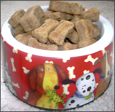 chicken dipped dog treats
