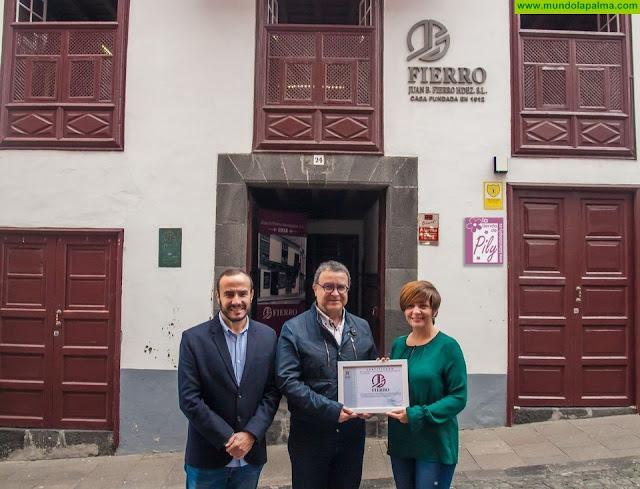 Casa Fierro se suma a la iniciativa de empresas socialmente responsables con el colectivo afectado por demencias en la isla de La Palma