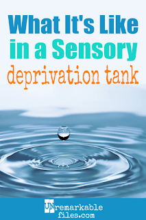 I was instantly curious when I heard about flotation therapy. Float therapy (a.k.a. sensory deprivation) involves floating in a saltwater tank known as a 'pod,' with no external stimulus like light or sound. It's supposed to promote mindfulness and relaxation, and help with managing stress and anxiety. Well, I tried it! Here is my review of my 90 minutes in a sensory deprivation tank for the first time. #sensorydeprivation #flotationtherapy #therapy #wellness #stressrelief #review