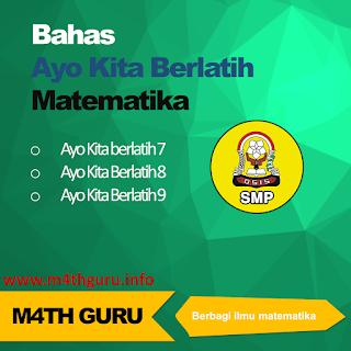 Soal dan Jawaban Ayo Kita Berlatih 7.3 Mengenal Sudut Matematika Kelas 7
