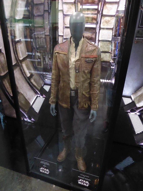 John Boyega Star Wars Last Jedi Finn movie costume