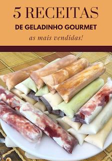 5 Receita de Geladinho Gourmet