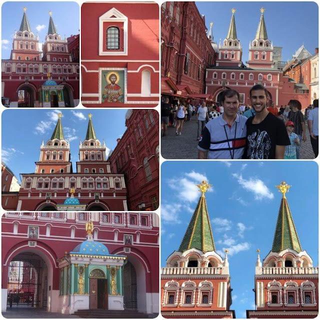 Portão da Ressurreição - Moscovo