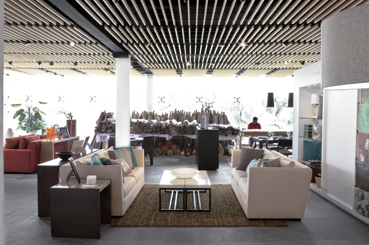 Imagine these showroom interior design calleveinte - Rhythm in interior design ...