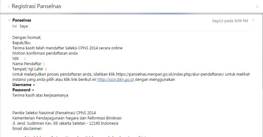 sscn.bkn.go.id Login