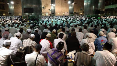Umat Islam #aksi112 Sholat Tahajjud Bersama, Imam Besar Masjid Istiqlal: Selamat Datang Tamu Istimewa