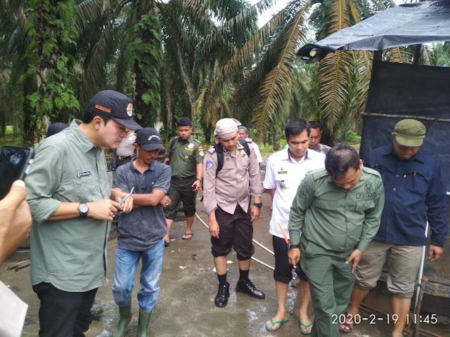 Jejak Kaki Harimau di Lawang wetan Heboh Di Sosmed BKSDA  Pastikan Jejak Tersebut Kucing Hutan