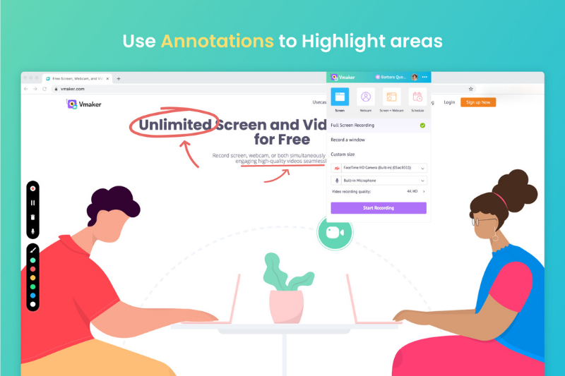 Use Annotation and Mouse Emphasis