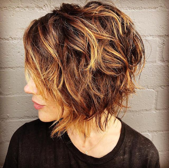 Shag Hairstyle for Short Haircut