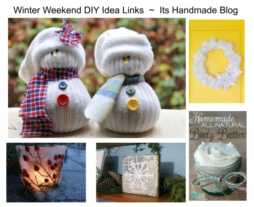 Winter Weekend Craft Decor Ideas for January