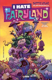 """Cómic: Reseña de """"I hate Fairyland 2: De mal en Peor"""" de Skottie Young - Panini"""