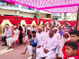 नगरवासियों का सामाजिक सौहार्द नगर के लिए खुशी की बात--एसपी श्रीवास्तव