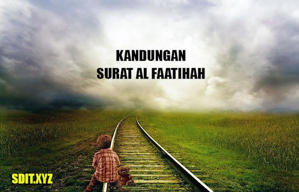 Kandungan Isi Surat Al Fatihah