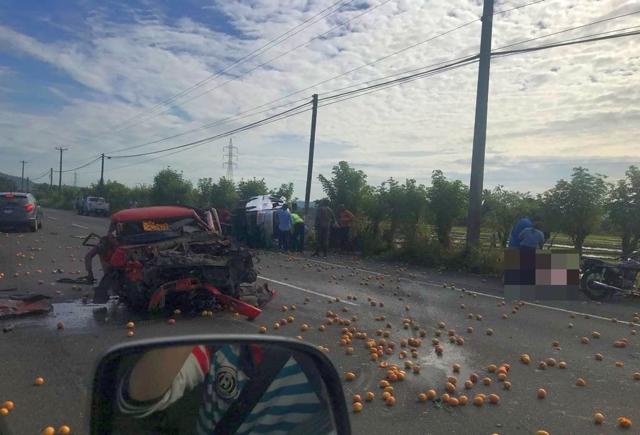 Accidente deja tres muertos y siete heridos en Bonao