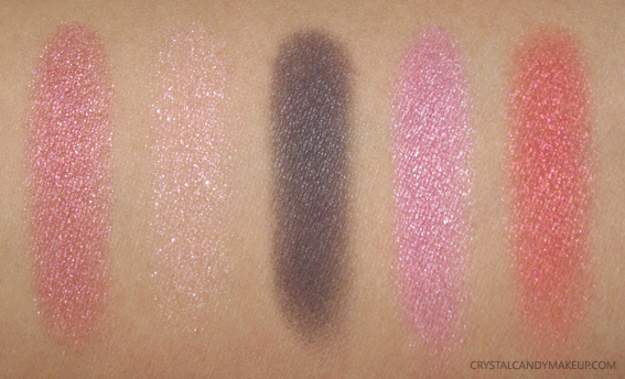 Yves Saint Laurent The Street And I Couture Palette Swatches