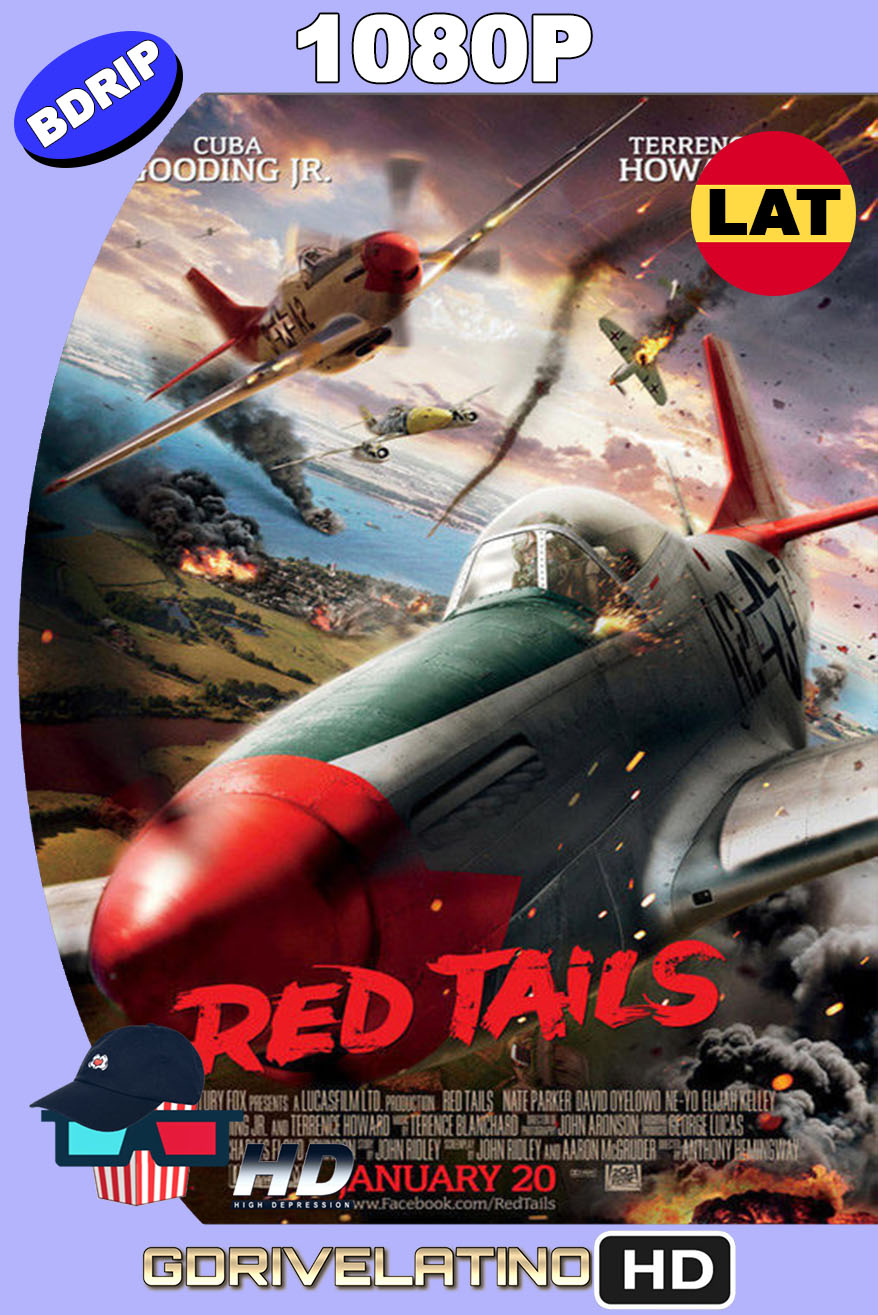 Red Tails (2012) BDRip 1080p Latino-Inglés MKV