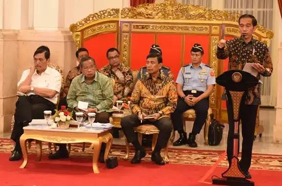 Jokowi Rapat Paripurna