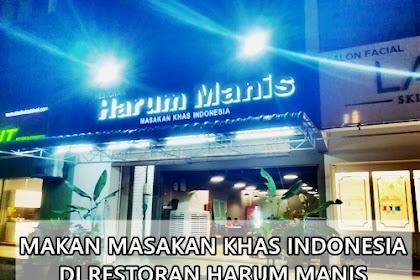 Makan Masakan Khas Indonesia di Restoran Harum Manis, Setia Alam