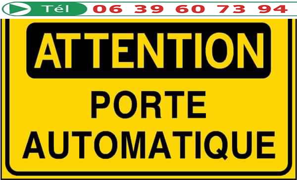 Portes automatiques marrakech installation contrat de for Actigramme a 0 porte automatique