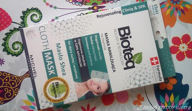BIOTEQ Maska nawilżająca na tkaninie