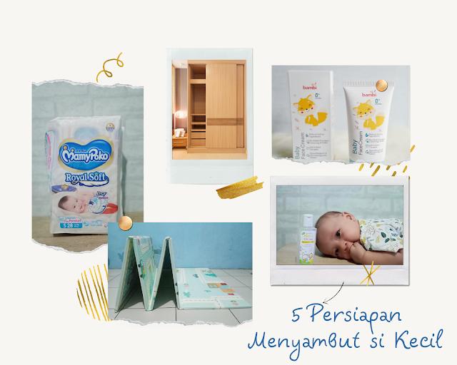 List perlengkapan bayi dan anak