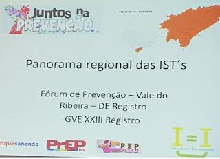 Miracatu participa do Fórum Regional 'Juntos na Prevenção Saúde e Educação'