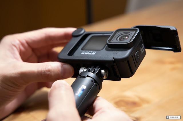 【開箱】發揮 GoPro 攝影機完整擴充能力 - Media Mod 媒體模組 - 底部設計也會造成拆卸的不便