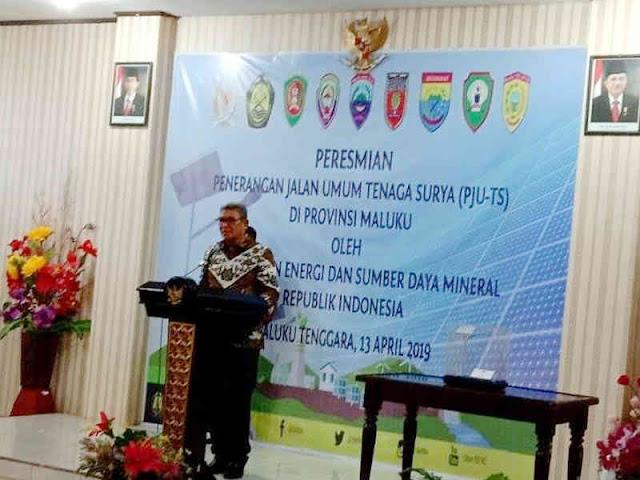Thaher Hanubun Apresiasi Kementerian ESDM Resmikan LTS di Maluku Tenggara