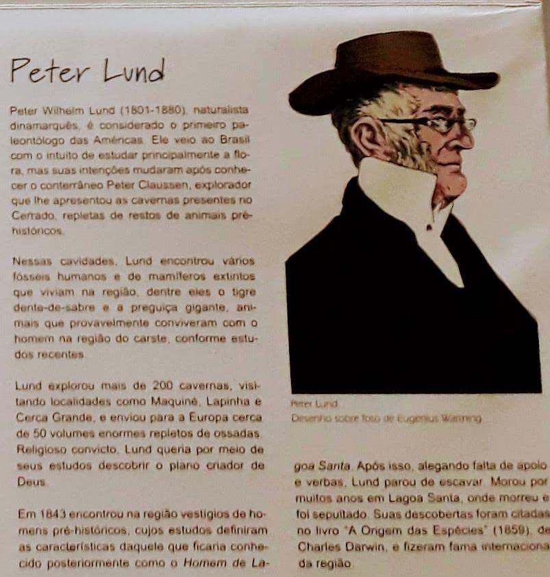 Zoológico de Pedras Peter Wilhelm Lund em Cordisburgo