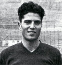 Vallone in his days as a young footballer with Torino FC
