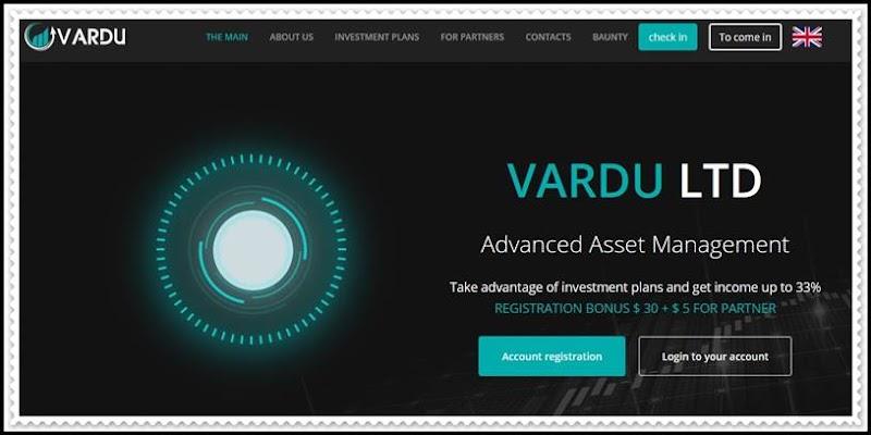 Мошеннический сайт vardu.org – Отзывы, развод, платит или лохотрон? Мошенники